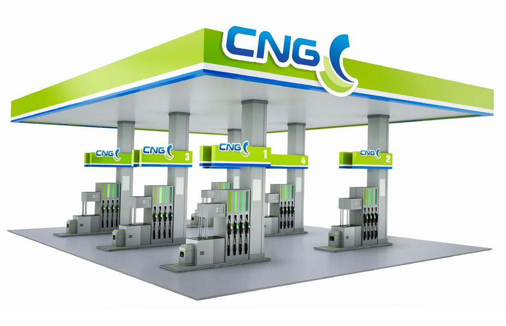 cng projekt logo stacji paliw lpg