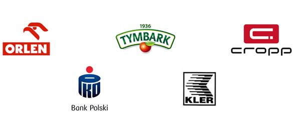Logo znanych marek