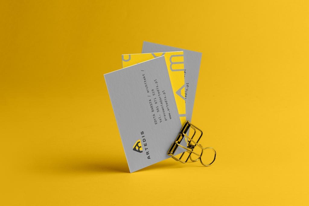 branding projekt wizytówki